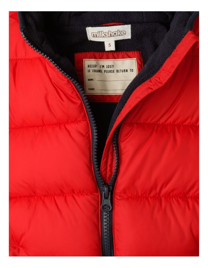 Puffer Jacket with Hood image 5