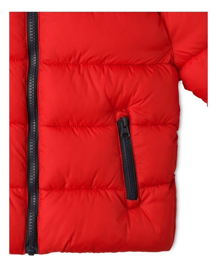 Puffer Jacket with Hood image 6