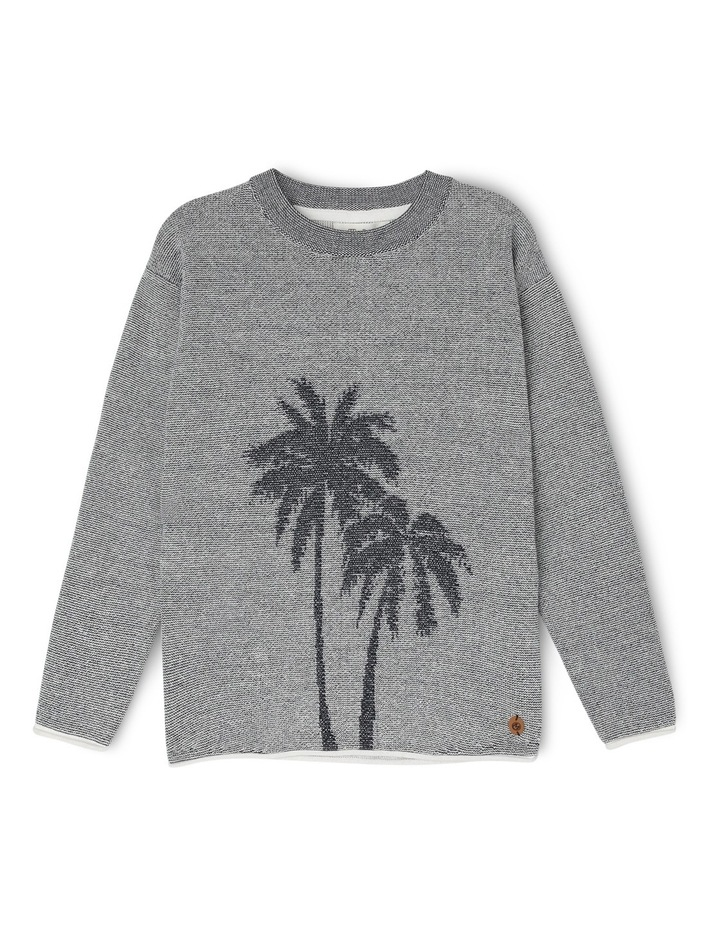 Pullover Palm Trees Intasia image 1