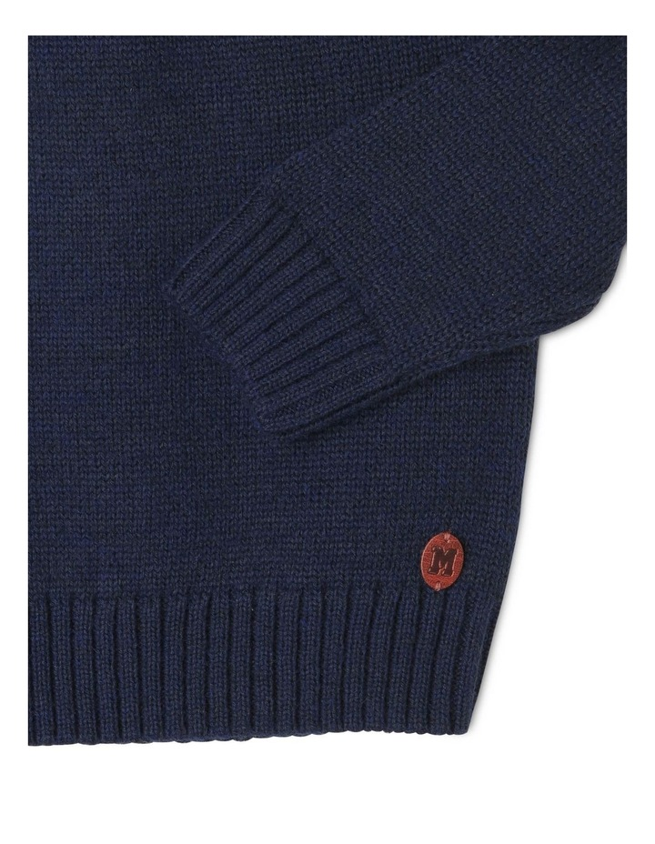 Nordic Crew Neck Knitted Jumper image 3