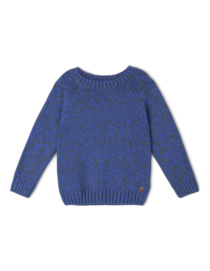 Two-Toned Crew Neck Jumper image 1