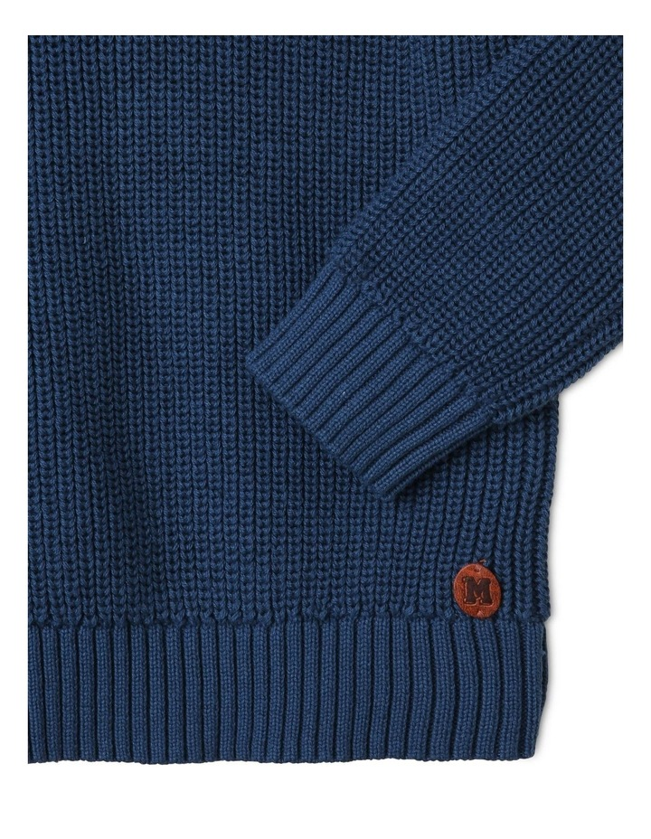 Quarter-Zip Rib-Knit Jumper image 3
