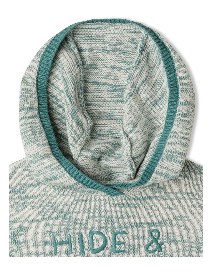 Knitted Jumper with Hood image 3