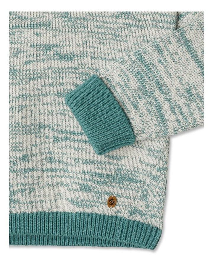 Knitted Jumper with Hood image 4