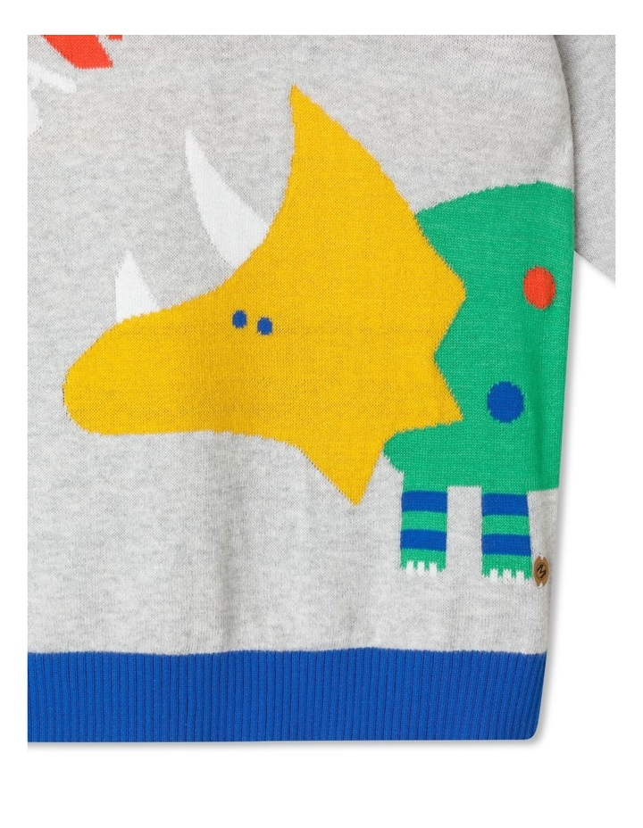 Knitted Crew Neck Jumper image 2