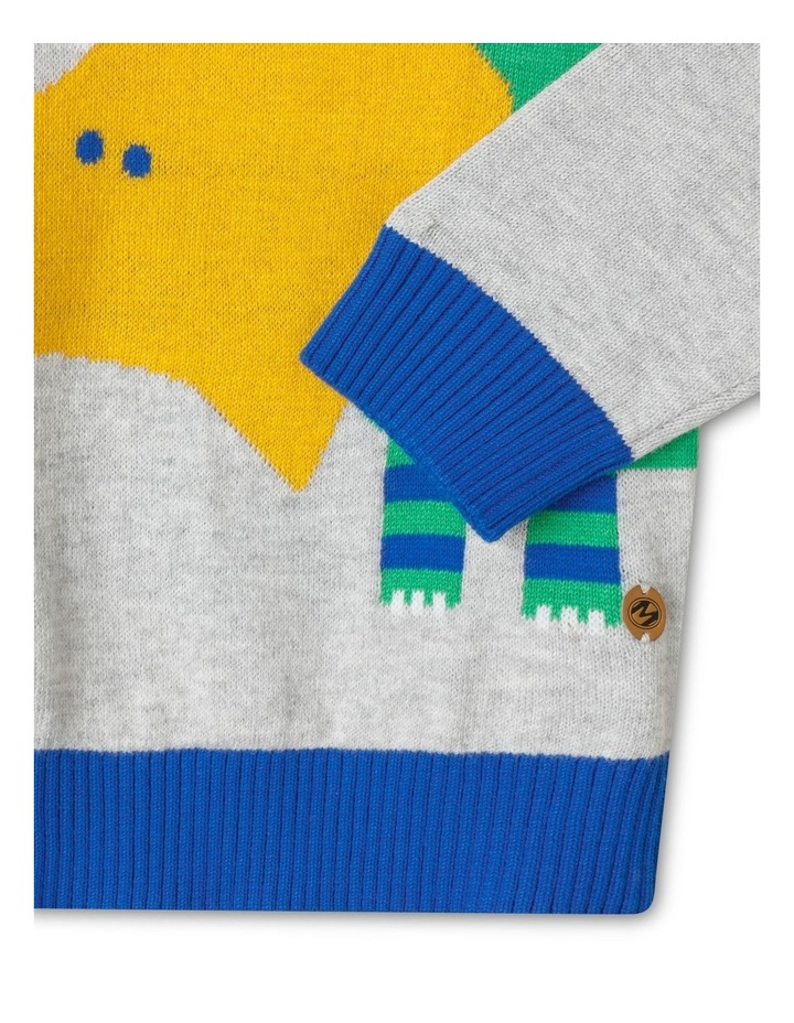 Knitted Crew Neck Jumper image 4