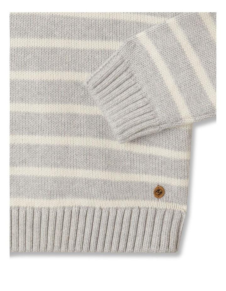 Knitted Half Zip Through Jumper image 4