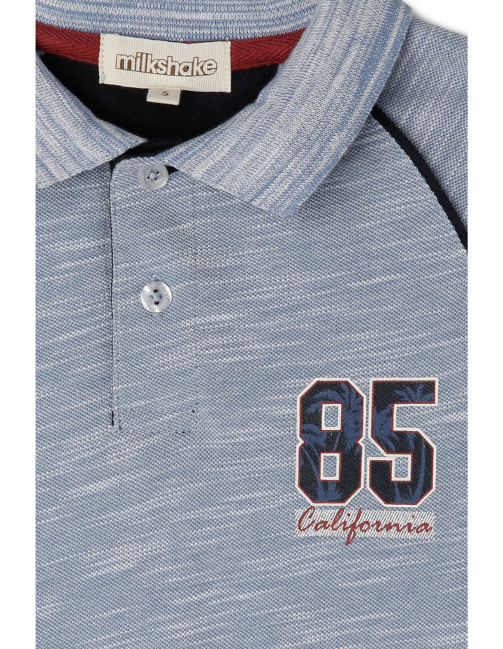Polo With Flocking / Applique image 2
