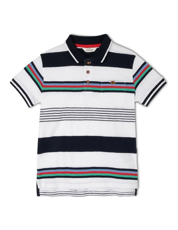 Striped Polo Shirt image 1