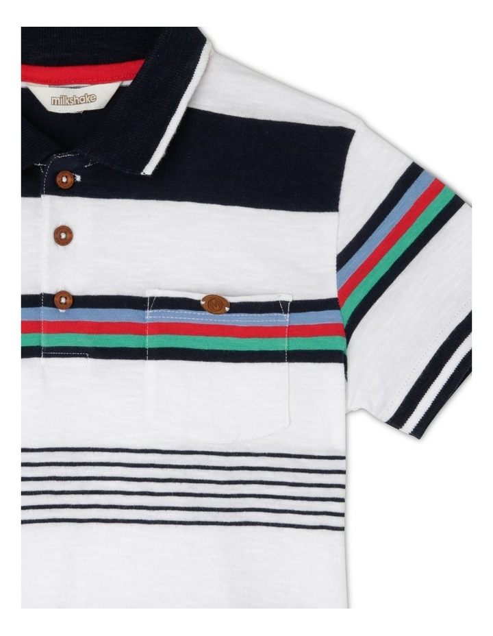 Striped Polo Shirt image 2