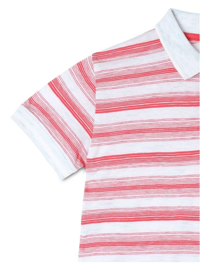 Engineered Stripe Polo image 3