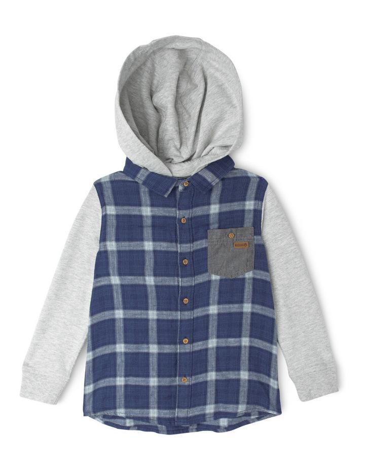 Hood Check Shirt image 1
