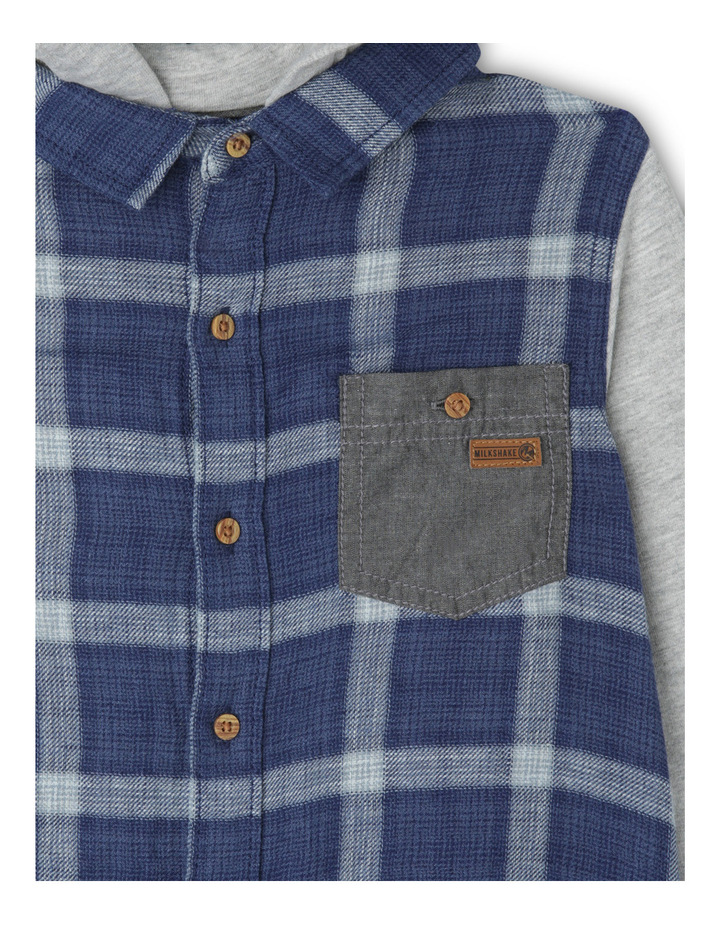 Hood Check Shirt image 2