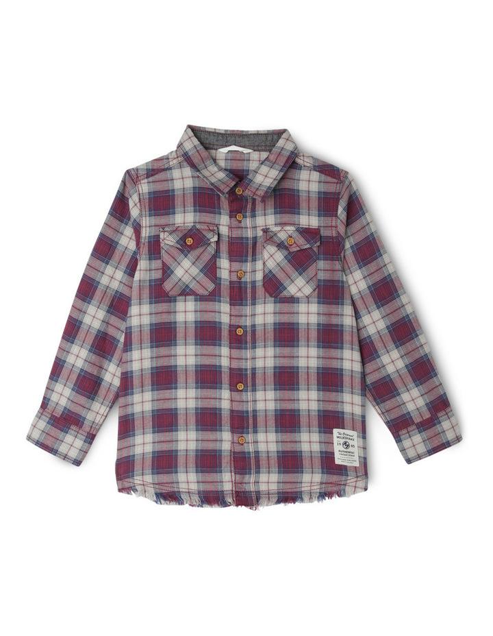 Check Shirt With Back Print image 1