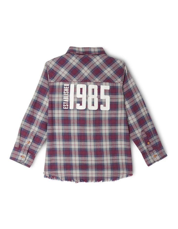Check Shirt With Back Print image 2