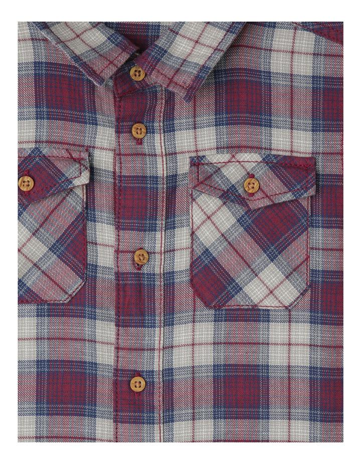 Check Shirt With Back Print image 3