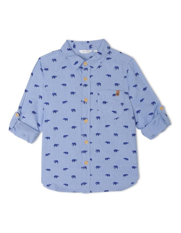 Shirt Long Sleeve Jungle Aop image 1
