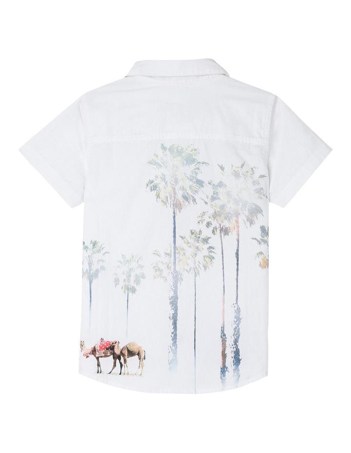 Camel & Palm Print Shirt image 2