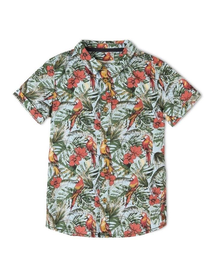 Ferns Print Shirt image 1
