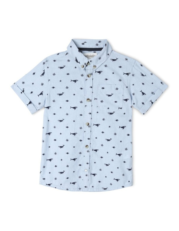 Whale Print Shirt image 1