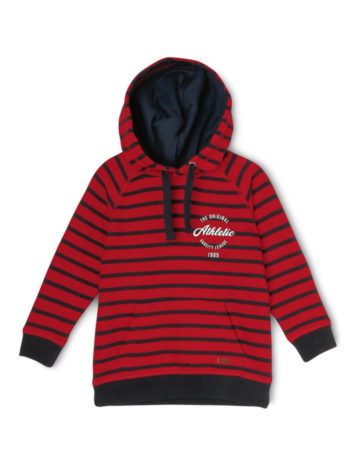 Essentials Athletic Stripe Hoodie image 1