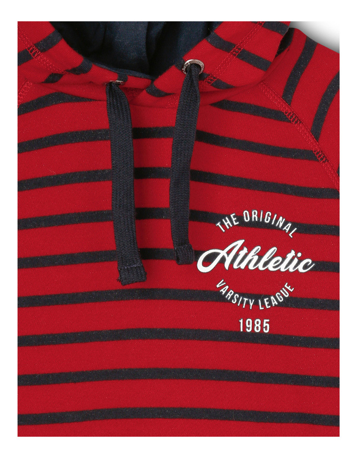 Essentials Athletic Stripe Hoodie image 2