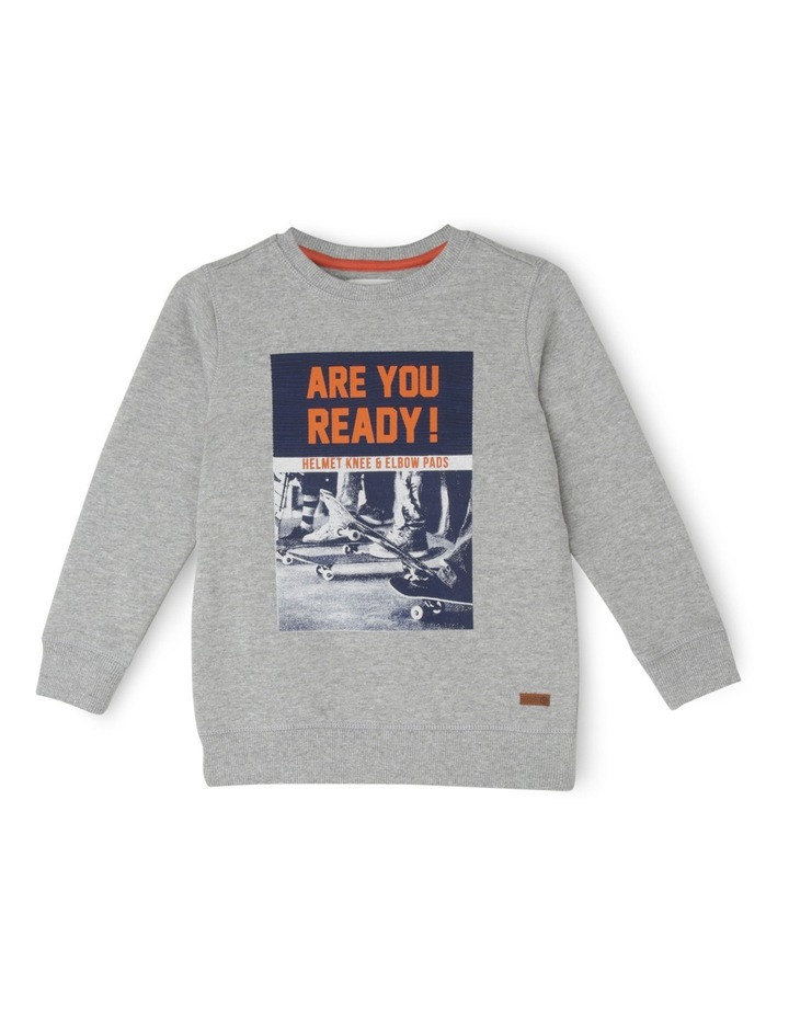 Essentials Are You Ready Sweat Top image 1