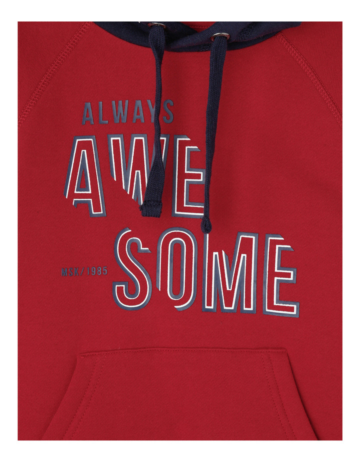 Essentials Awesome Popover Hoodie image 2