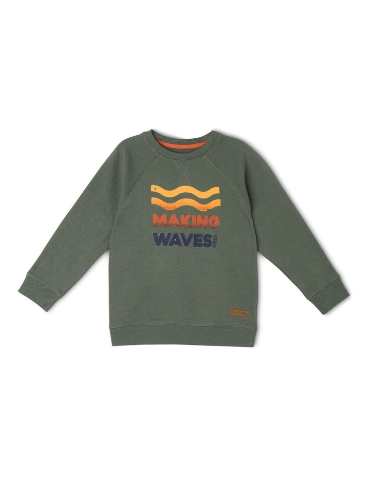 Essential Sweat Top - Making Waves image 1