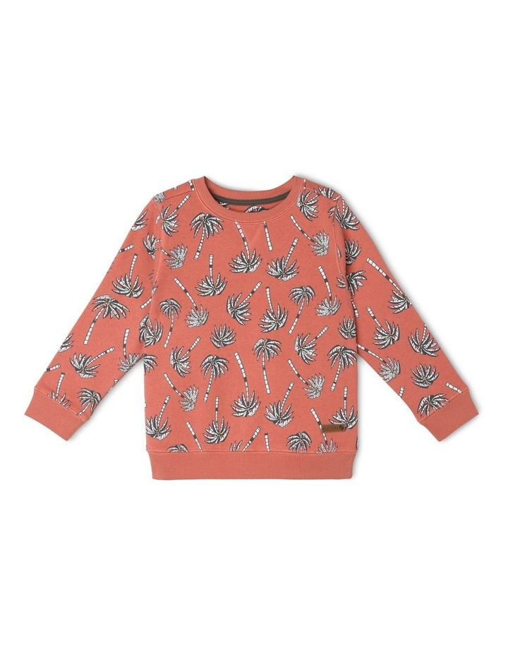 Essential Sweat Top - Palm Trees image 1