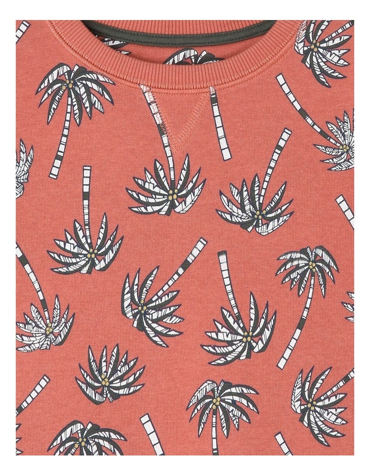 Essential Sweat Top - Palm Trees image 2