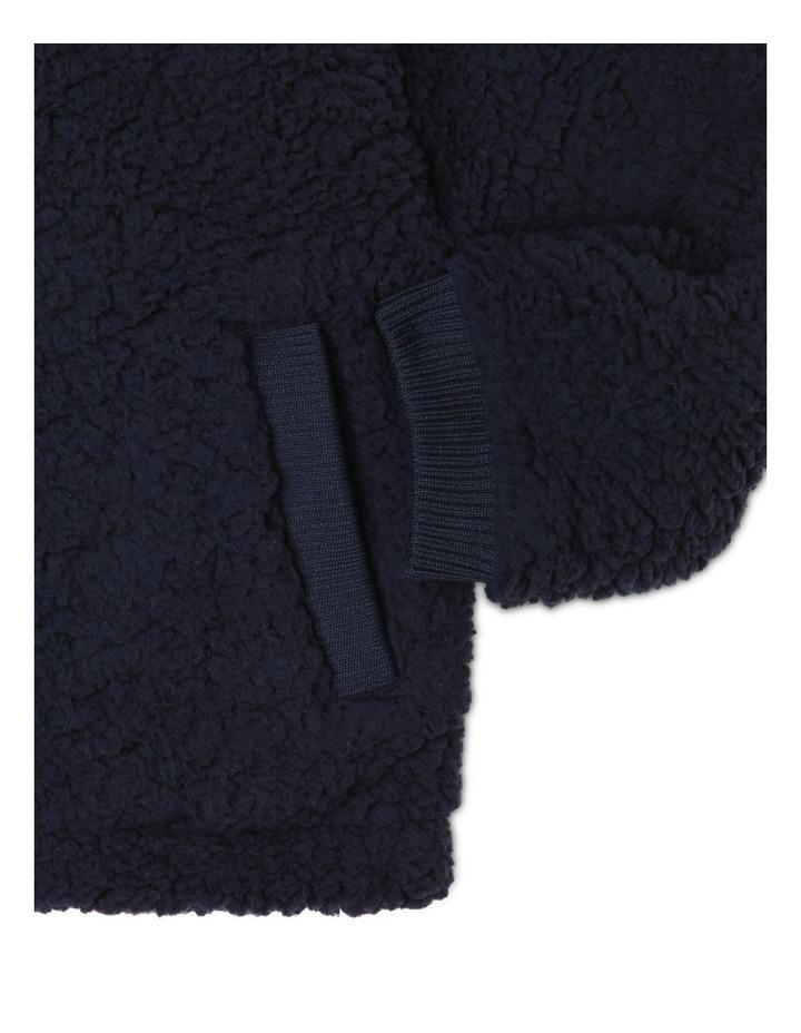 Zip Fleece Sweat Top image 3