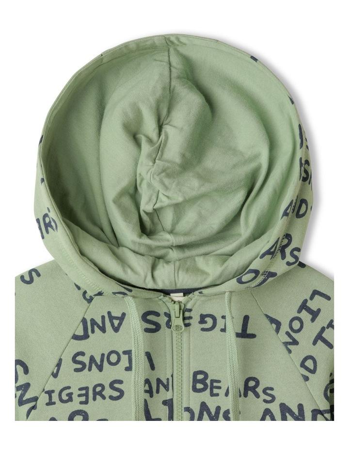 Zip Thru Fleece Sweat Top image 2