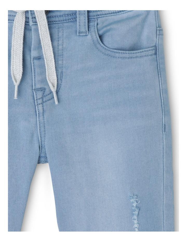 Distressed Pullon Jean image 2