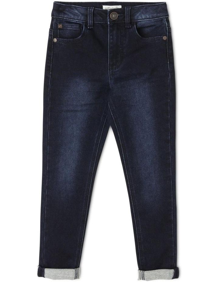 5 Pocket Jean - Dark Denim image 1