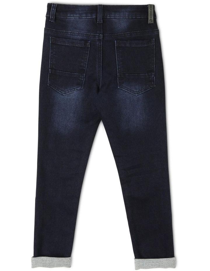 5 Pocket Jean - Dark Denim image 2