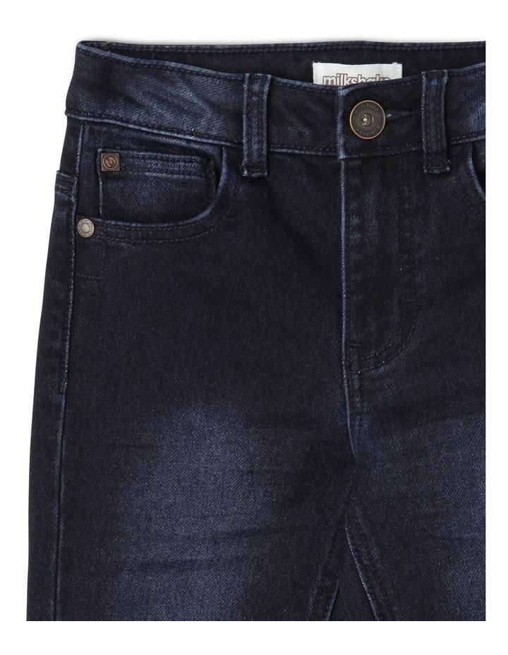 5 Pocket Jean - Dark Denim image 3