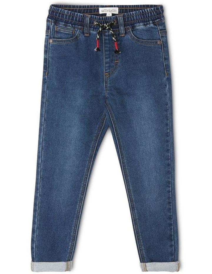 Pull On Pants - Vintage Denim image 1