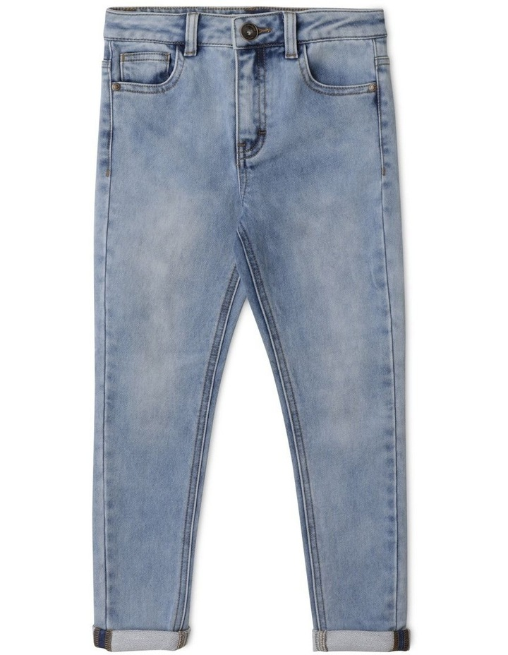 Knit Denim Jean image 1