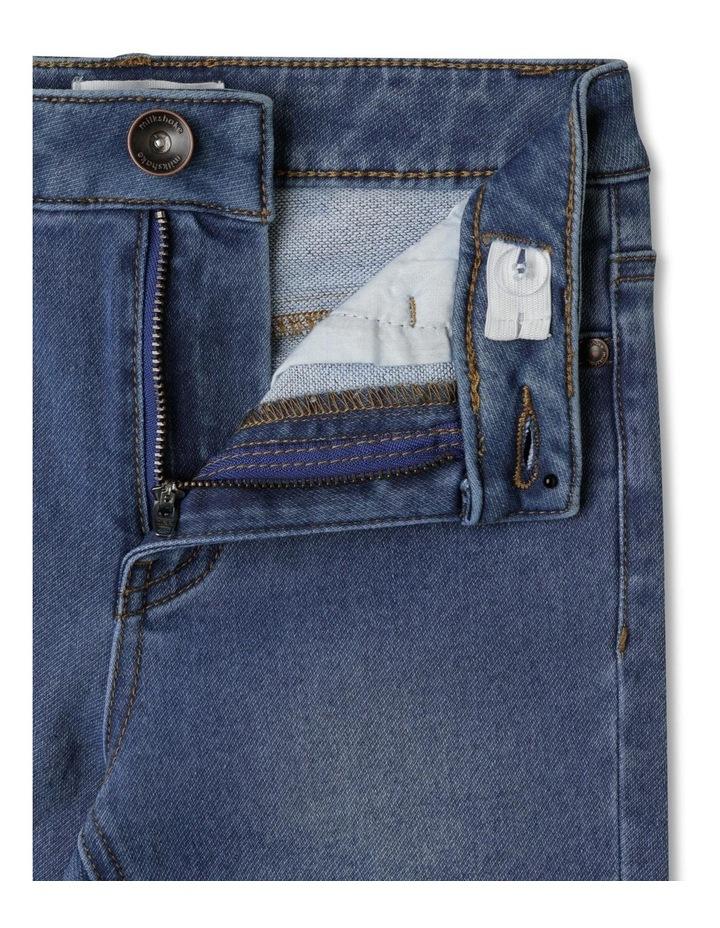 Knit Denim Jean image 3