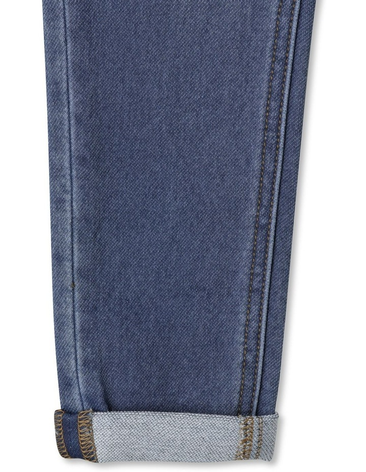 Knit Denim Jean image 7