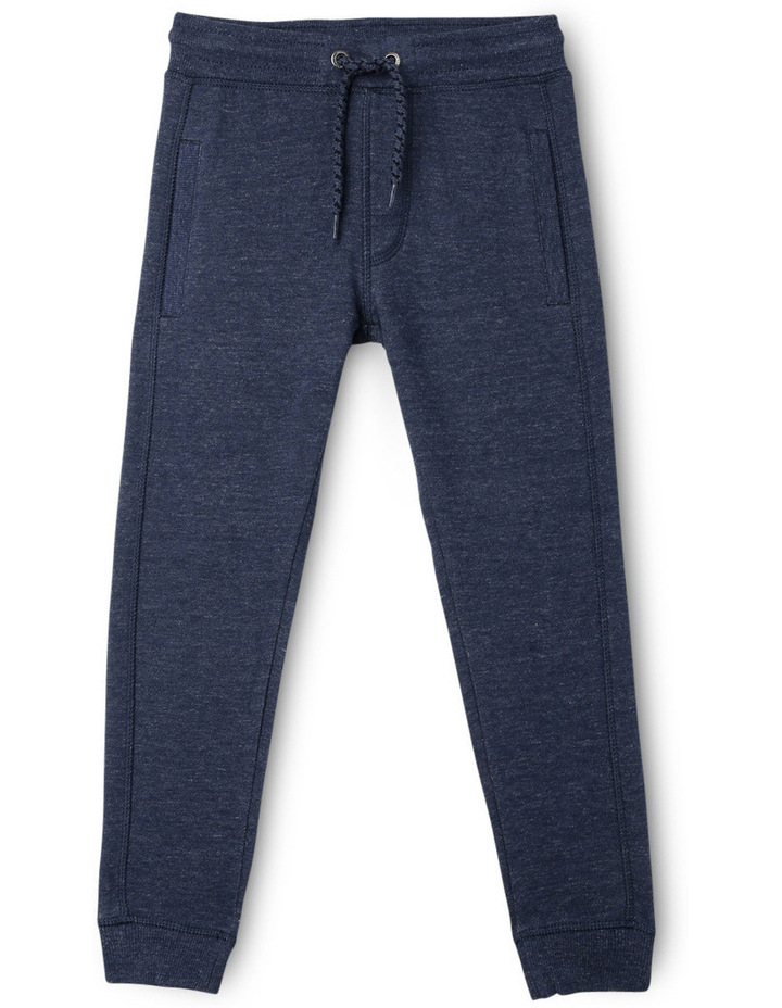 Essentials Core Trackpant Blue Marle image 1