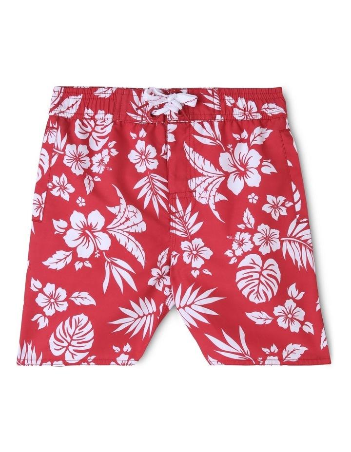 Hawaiian Print Boardshort image 1
