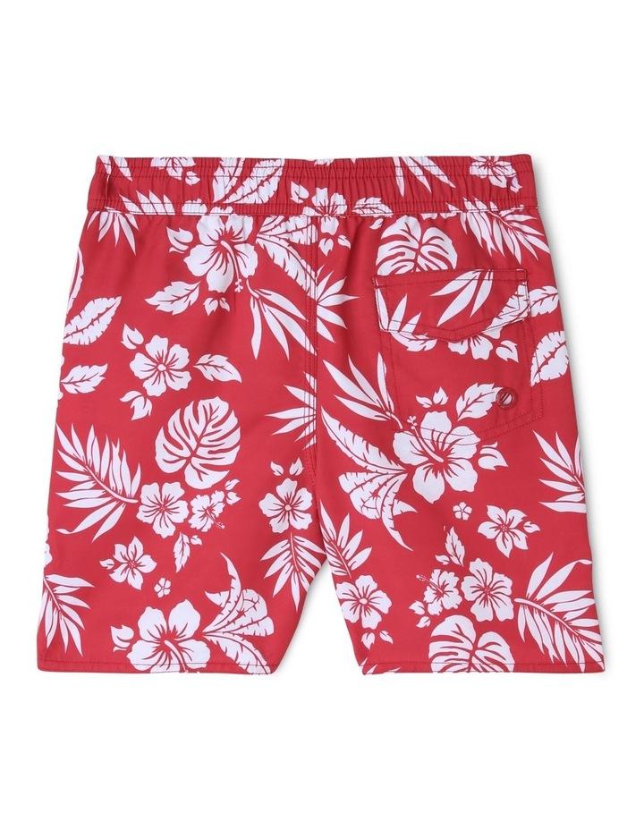 Hawaiian Print Boardshort image 2
