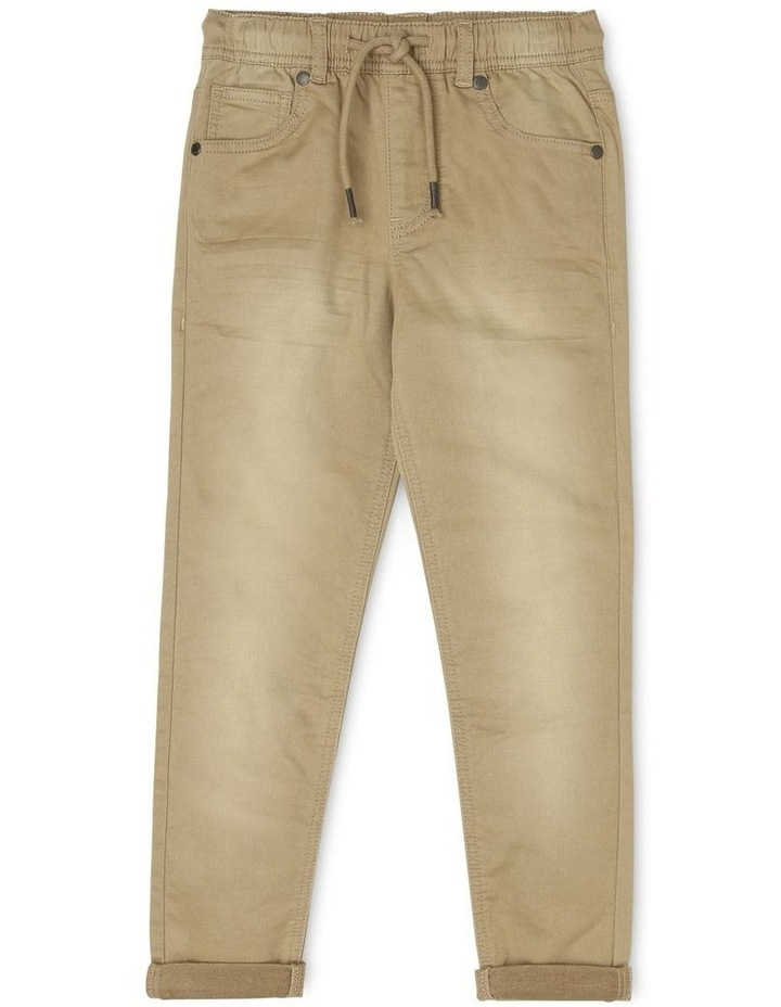 Pull-On Chino Pants image 1