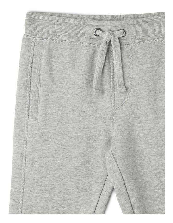 Essentials Track Pant - Grey Marle image 3