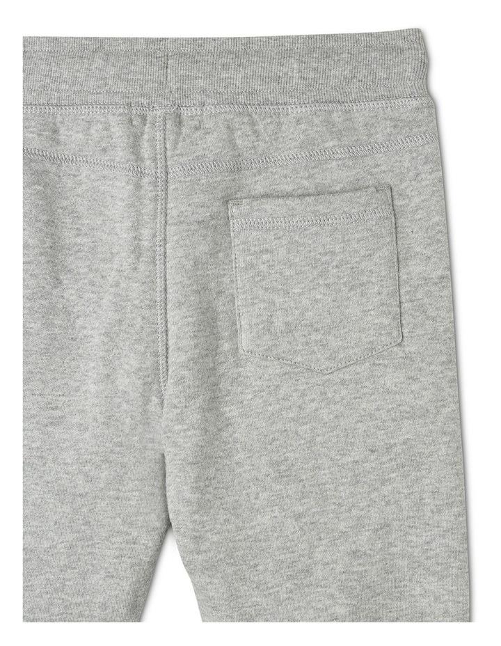 Essentials Track Pant - Grey Marle image 4
