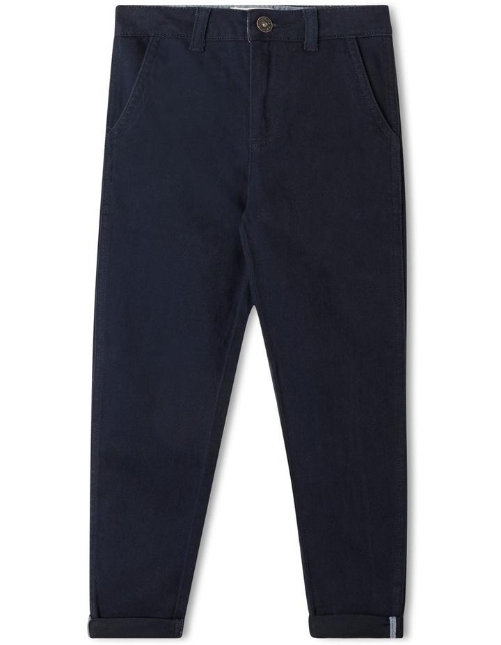 Stretch Chino Pants Navy image 1