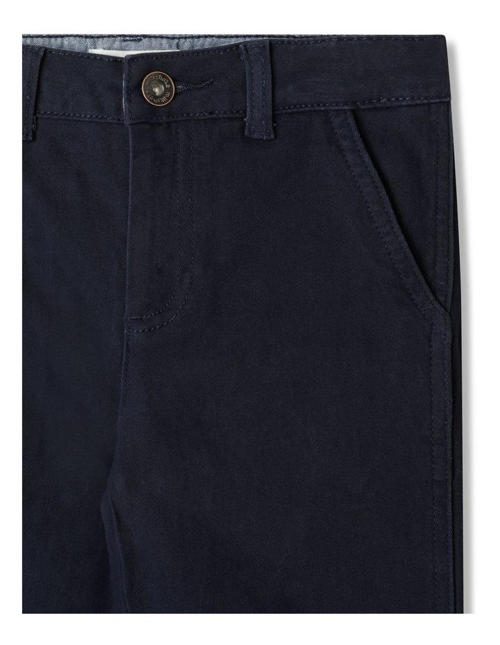 Stretch Chino Pants Navy image 2
