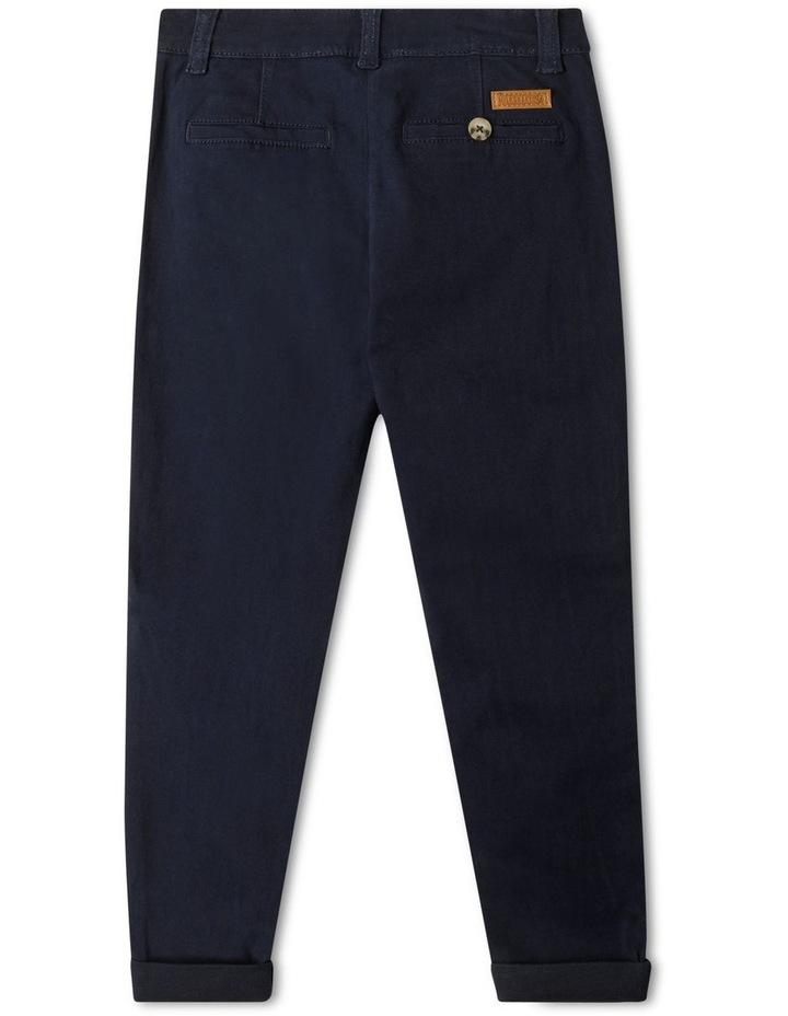Stretch Chino Pants Navy image 4